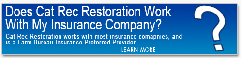 CatRec Restoration Insurance Water Damage